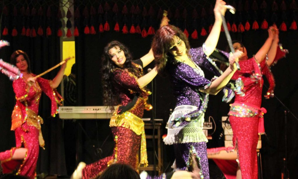 Orientalischer Tanz München und Gilching mit Else Diederichs