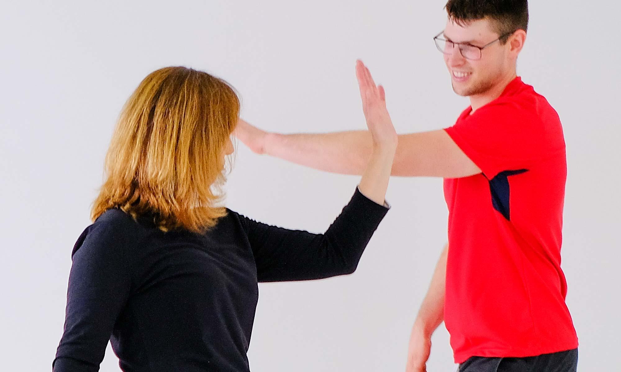 Tanztherapeutische Einzeltherapie