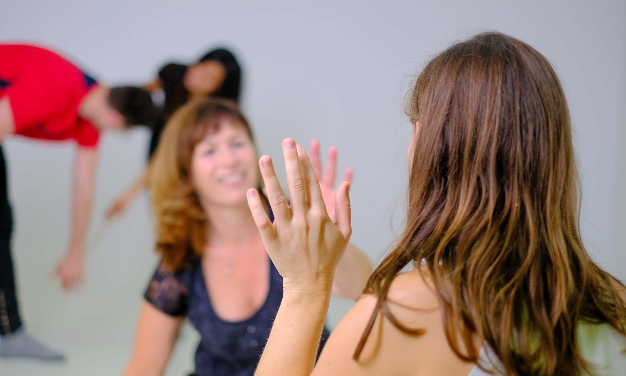 Tanztherapeutische Gruppe für Jugendliche von 14–17 Jahre