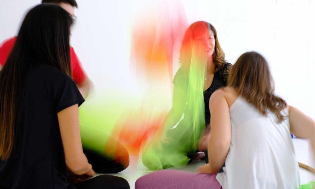 Gruppenarbeit in der Lehrtherapie zur Tanztherapieausbildung